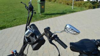 Electric HARLEY 61  60V cushioning   40km/h  150km