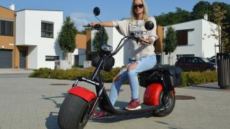 Electric Scooter HARLEY 2 Lith. Bat. 40km/h 80km ML-SC03