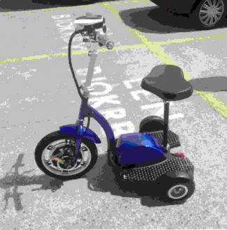 Electric tricycle 10 T6-1
