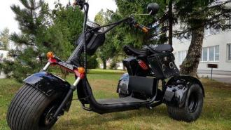 Elektric HARLEY 66  60V ML-SC09 tricycle    40km/h  80km